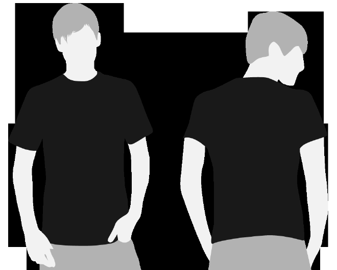 Tshirt Template Download 4shared Clipart Best