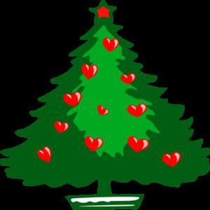 Christmas Hearts Clip Art Vector Clip Art Online Royalty Free Clipart Best Clipart Best