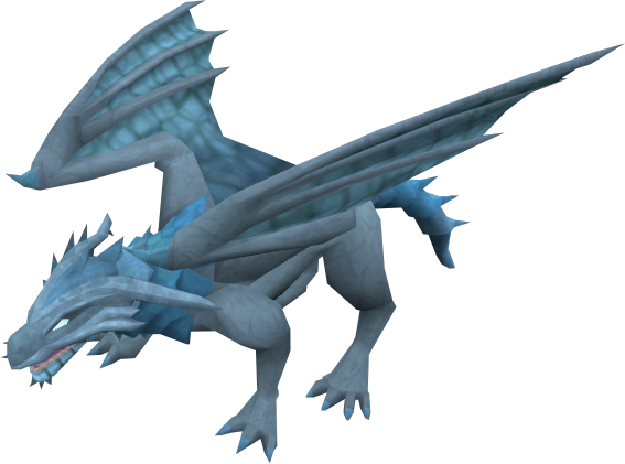 Frost dragon - The RuneScape Wiki - ClipArt Best - ClipArt ...