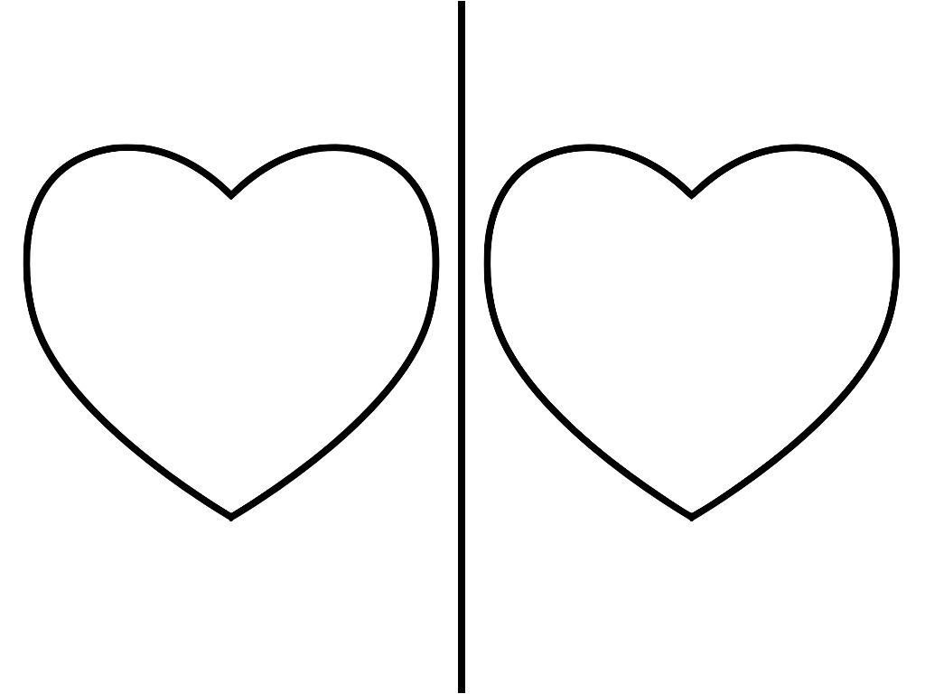 Heart template clipart best for Heart template for sewing