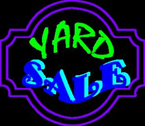 Clip Art Yard Sale Free