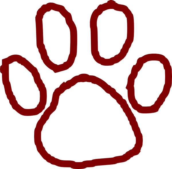 Grizzly Bear Paw Clip Art Vector Online Royalty Free