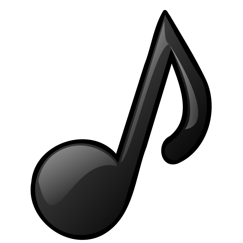 Clipart - Musical note