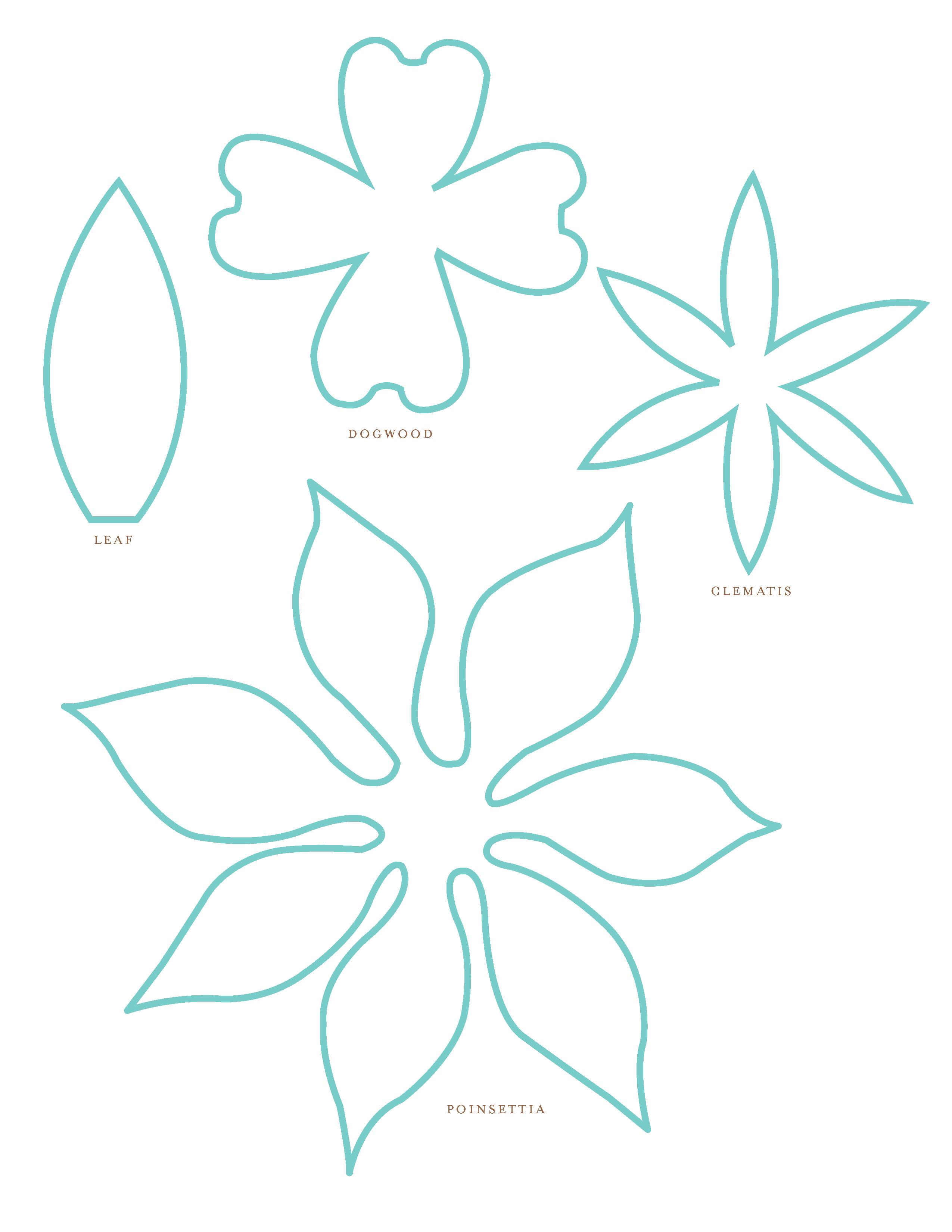 Paper Flower Patterns - ClipArt Best