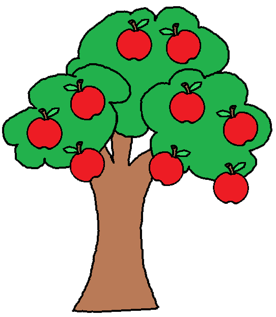 Clip Art Fruit Tree Apple - ClipArt Best