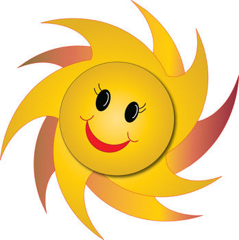 Happy Face Star Clipart - Free Clipart Images