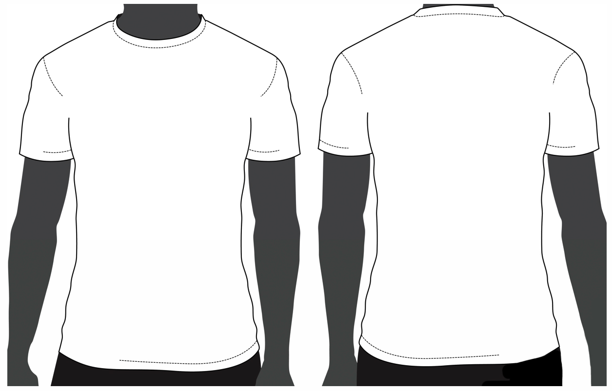 Template T Shirt Psd Clipart Best