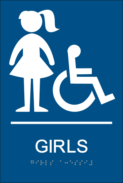 Girls Bathroom Signs Clipart Best