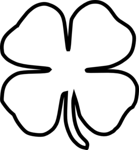 11 shamrock outline printable . Free cliparts that you can download to ...