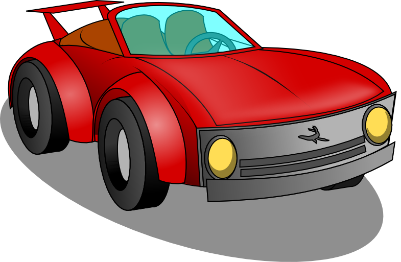 red sports car clipart   clipart best