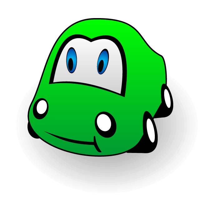 cartoon cars clipart - photo #38