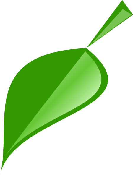 Single Leaf Logo - ClipArt Best
