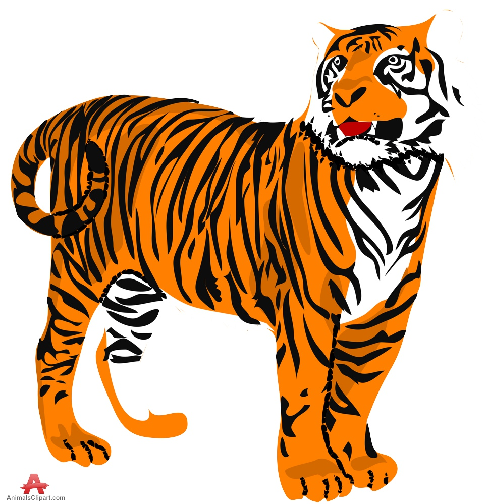 Free Tiger Clipart - ClipArt Best