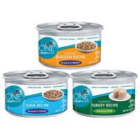 Canned Purina Food