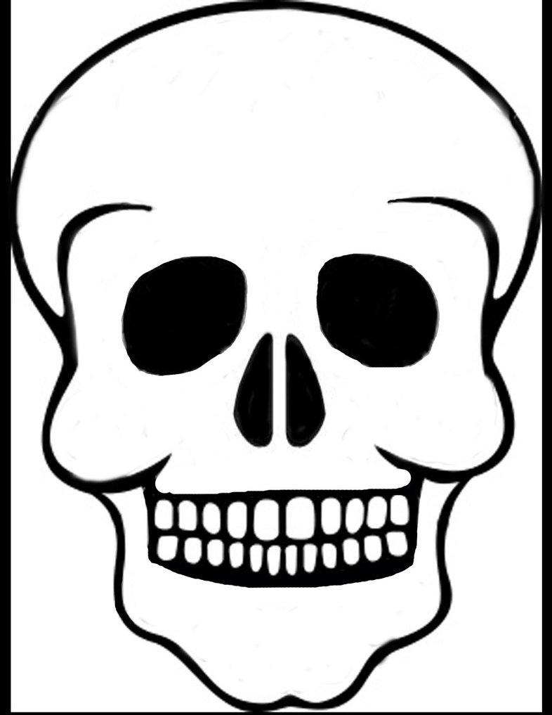 Skull Template - ClipArt Best