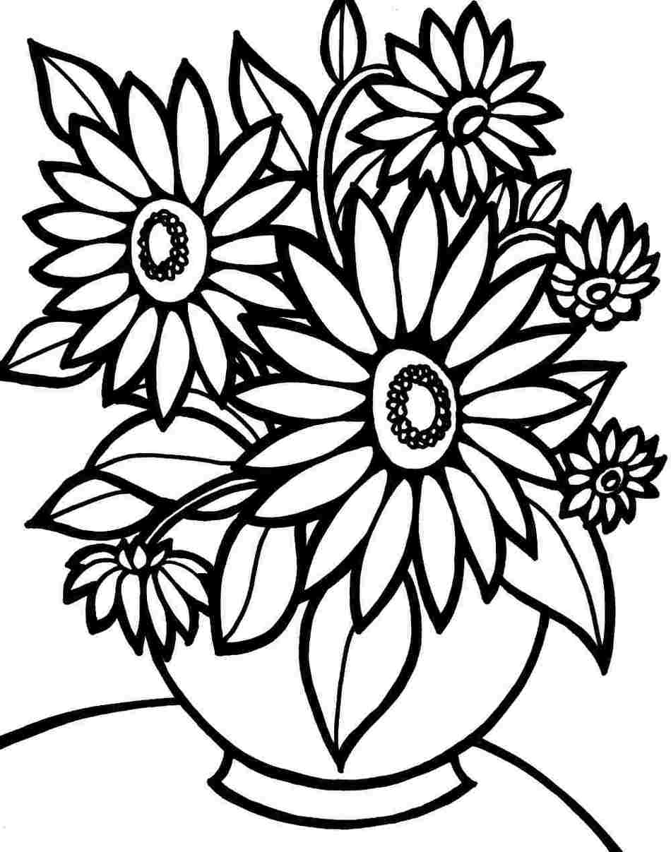 girls planting flowers coloring pages - photo#32