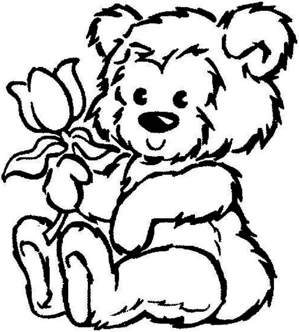 Teddy Bear Colouring Pages - ClipArt Best