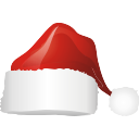 Santa Hat Icon from the Christmas Surprise (4 in 1) Set - DryIcons
