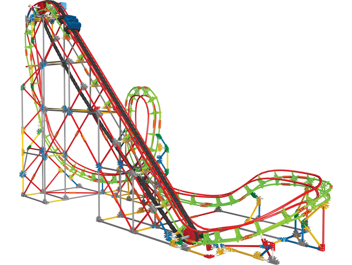 physics of roller coasters Physics behind roller coasters energy can be converted from one from to another when the car is still, the energy which is acting on it is gpe (gravitational.