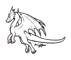 outlines of dragons free cliparts that you can download to you ...