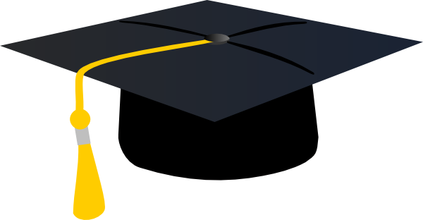 Free Vector Graduation Hat - ClipArt Best