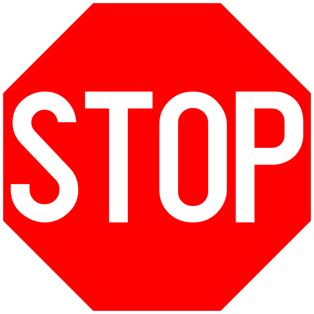Printable stop signs clipart best for Stop sign printable