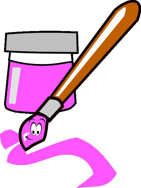 Cartoon Paintbrush Clip Art Vector Clip Art Online