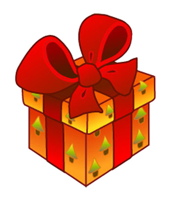 Image result for christmas present  clipart