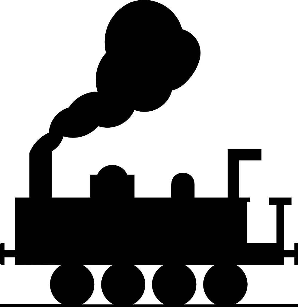 ryanlerch train roadsign 2 SVG