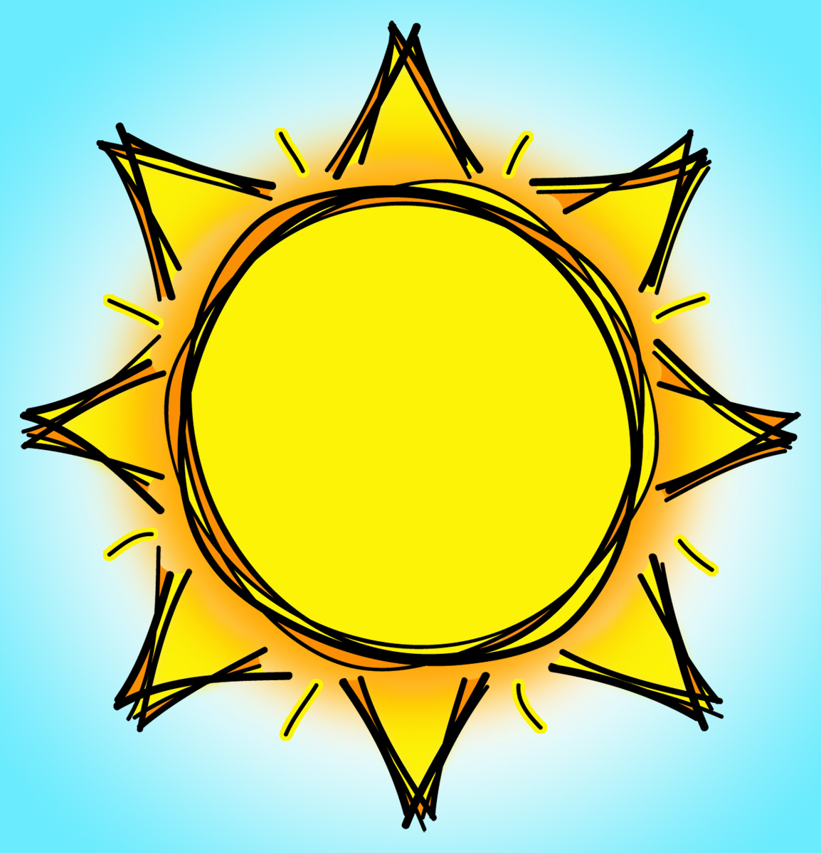 Free Clipart Of Animated Sun - ClipArt Best