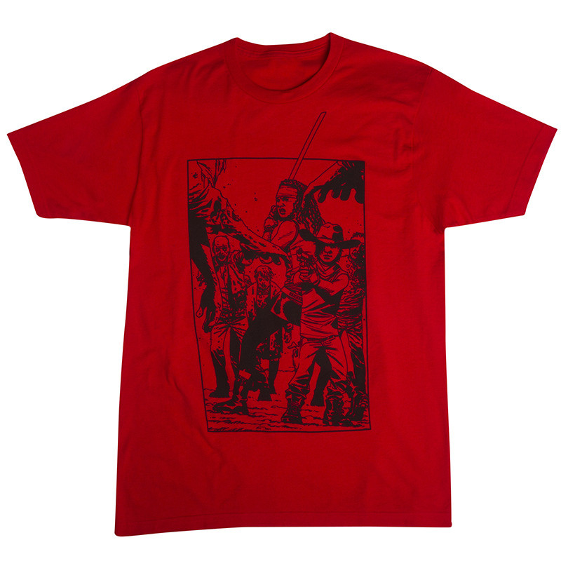 "THE WALKING DEAD ""Blood Red"" T-Shirt (Men's) – Skybound"