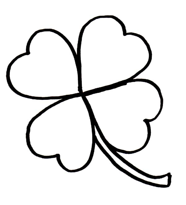Four Leaf Clover Printables - ClipArt Best