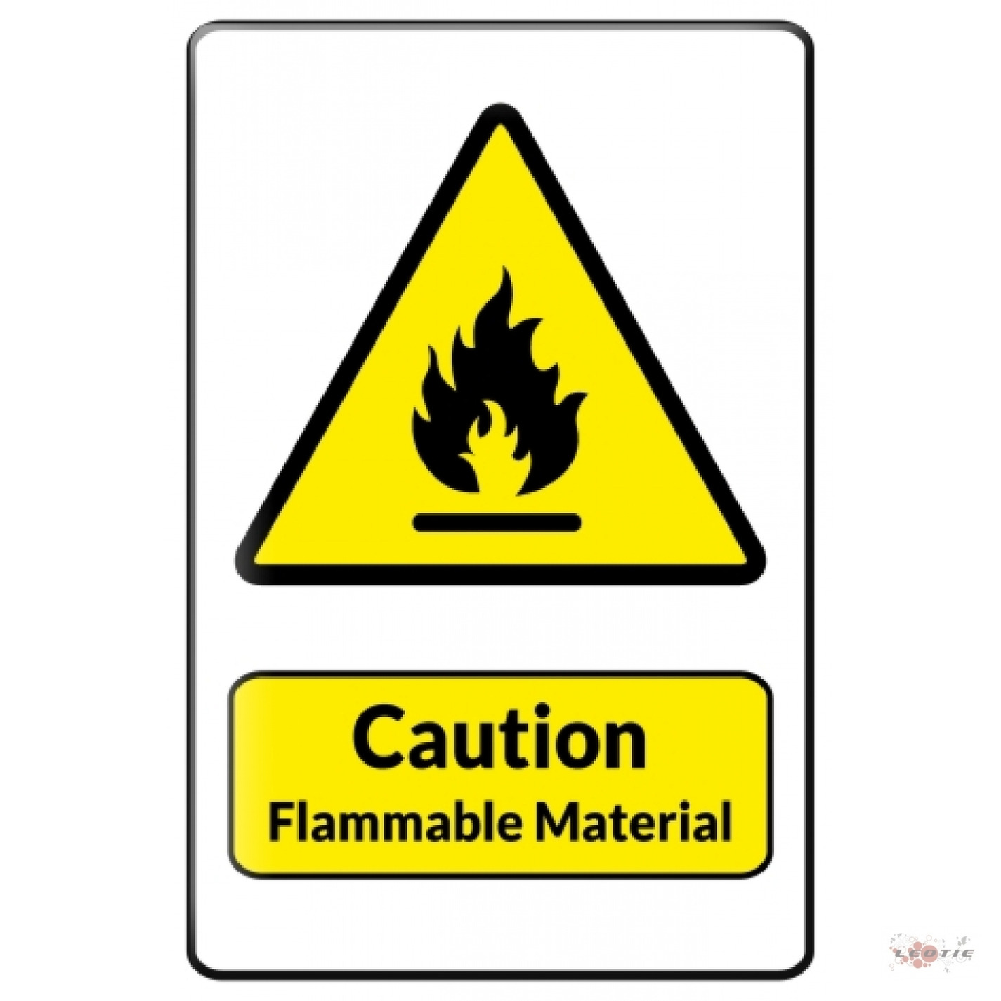 Flammable Symbol - ClipArt Best