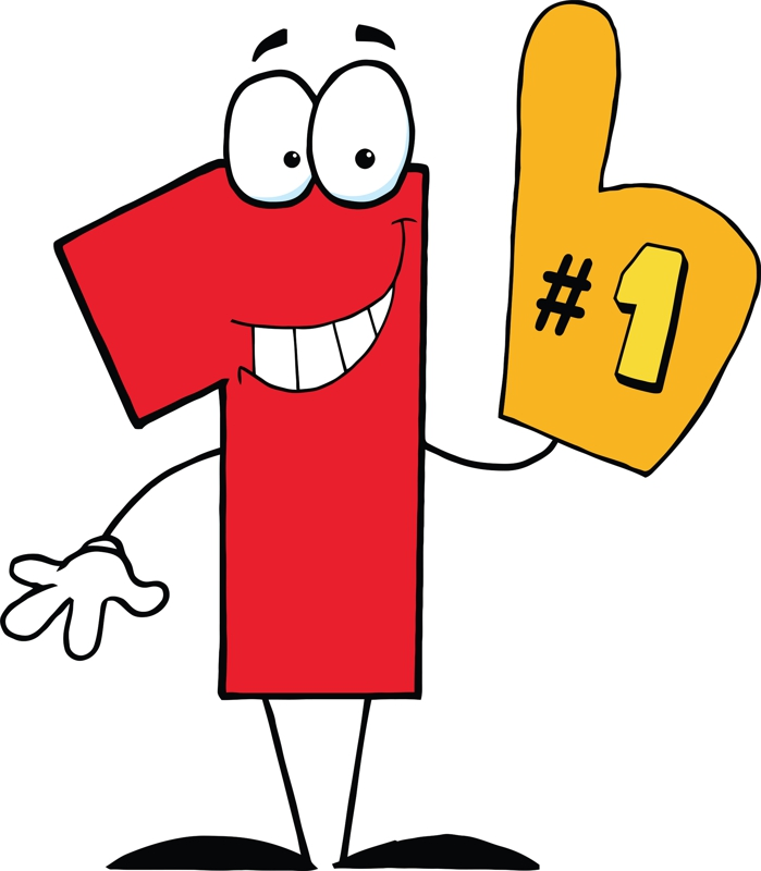 Number Two Funny Mascot Character — Stock Photo © HitToon ...  |Cartoon Number Two