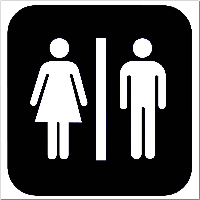 Toilet Signs Images Clipart Best