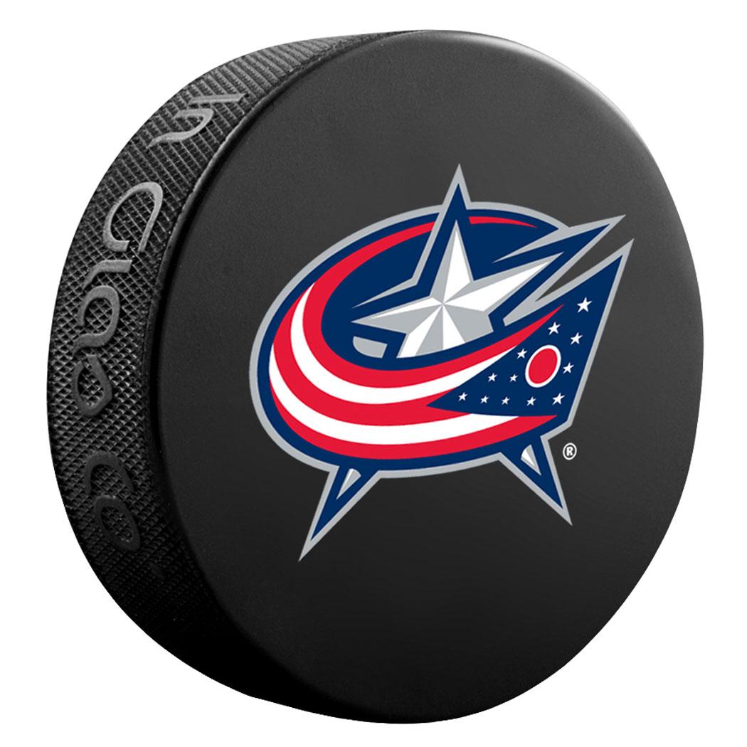 Sherwood NHL Team Souvenir Ice Hockey Puck (Columbus Blue Jackets ...