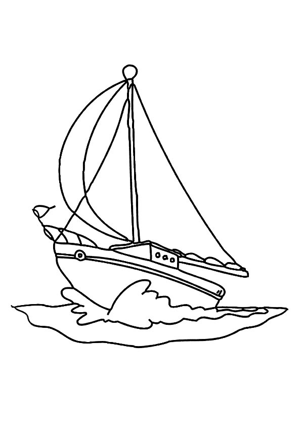 sailboat template for kids