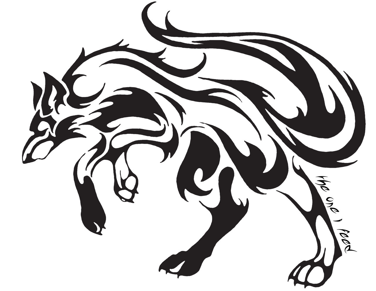 related celtic wolf designs native wolf drawings howling wolf designs ...