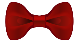 Tie Outline Clip Art