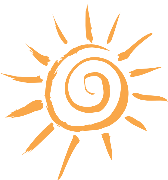 Simple Sun Motif clip art - vector clip art online, royalty free ...: www.clipartbest.com/drawings-of-sun