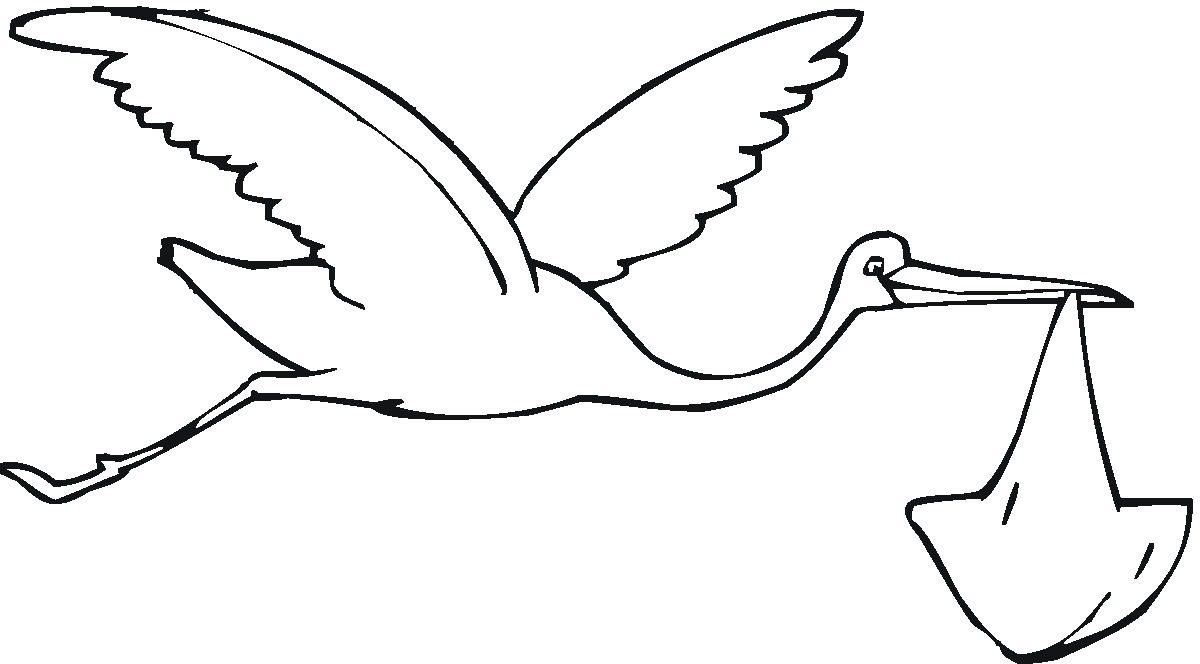 free baby clipart black and white - photo #24