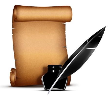 Paper Scroll Design - ClipArt Best