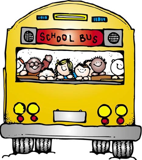 back to school bus clipart - photo #17