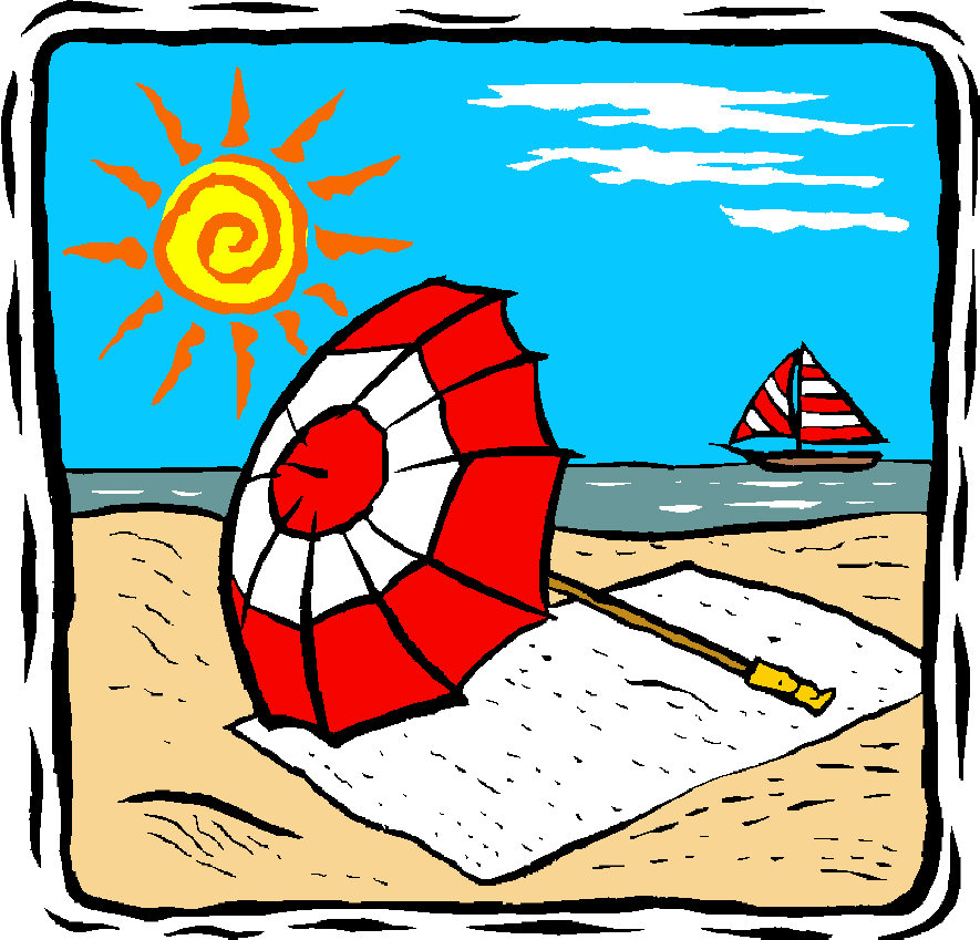 free beach vacation clipart - photo #7