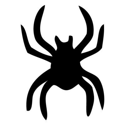 Halloween Spider Silhouette Basic Wall Decal by Kowalla ...