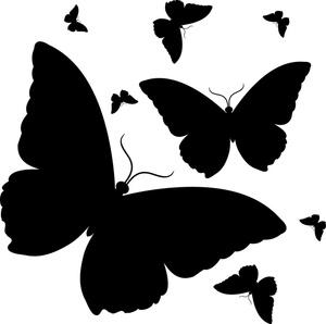 Butterflies Clipart Im...
