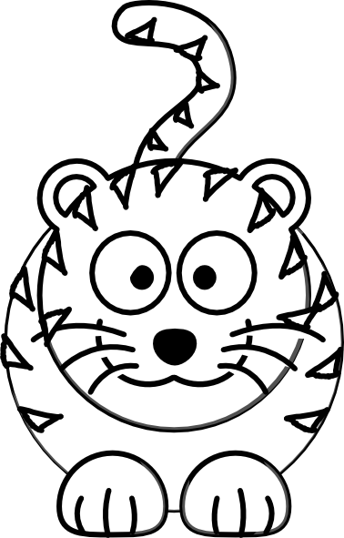 Pictures Of Animated Tigers - ClipArt Best
