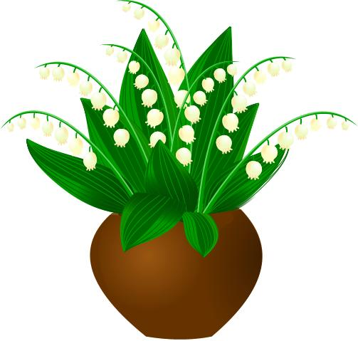 Lily Of The Valley Clip Art - ClipArt Best