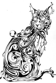 Abstract Drawings Of Animals - ClipArt Best