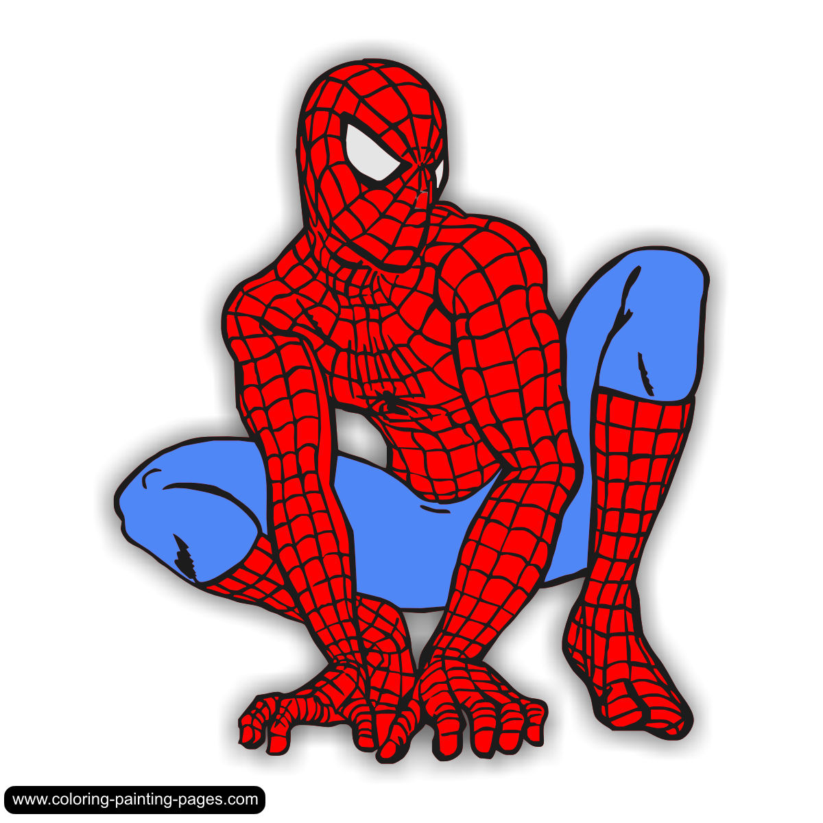 coloring pages spiderman mask clip - photo#28